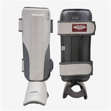 Seven Fightgear Leather Stand-up Shin Guards